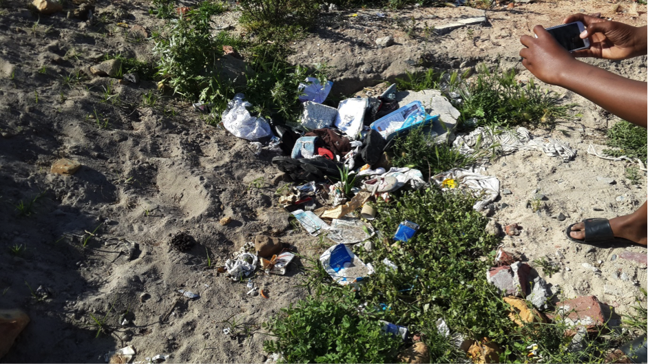 Litter appeared to be a sensitive issue, with many of the youth being highly critical of its presence in Vukuzenzele. This provoked discussions about the social influences which contribute to its existence, as well as the lack of infrastructure.