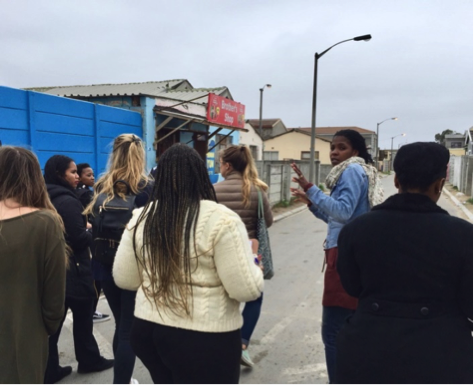 Vukuzenzele Mapping Workshop with UCT Environmental and Geographical Science Students